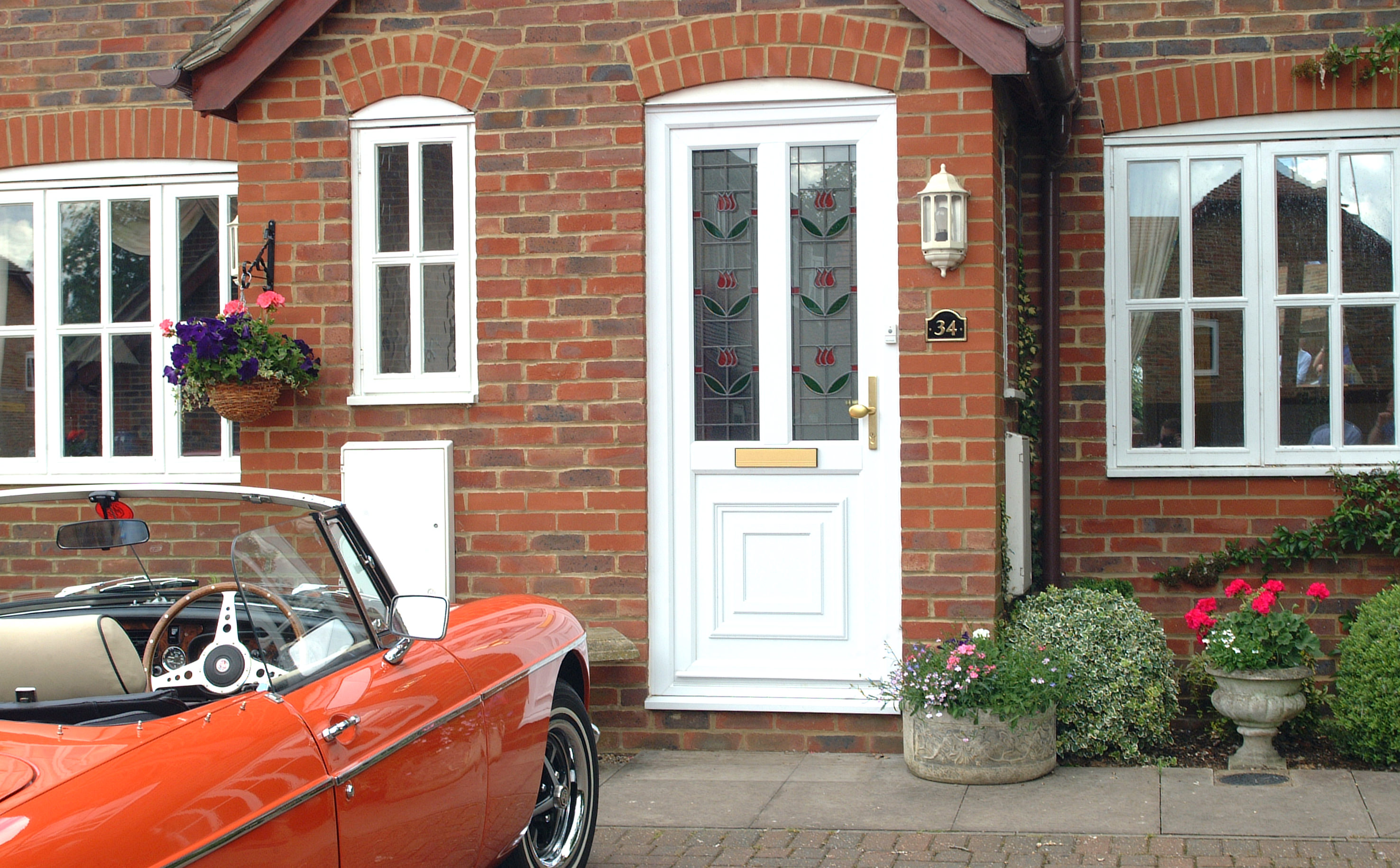 modern home upvc door coventry